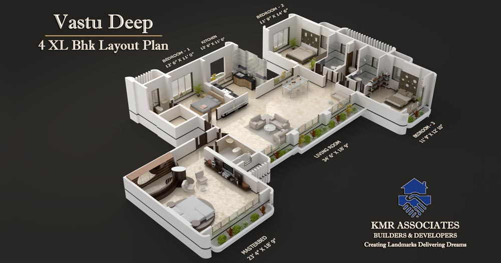 Top 3 BHK Plan 1000 x 525 · 65 kB · jpeg